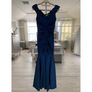 Beautiful Dark Blue Dress